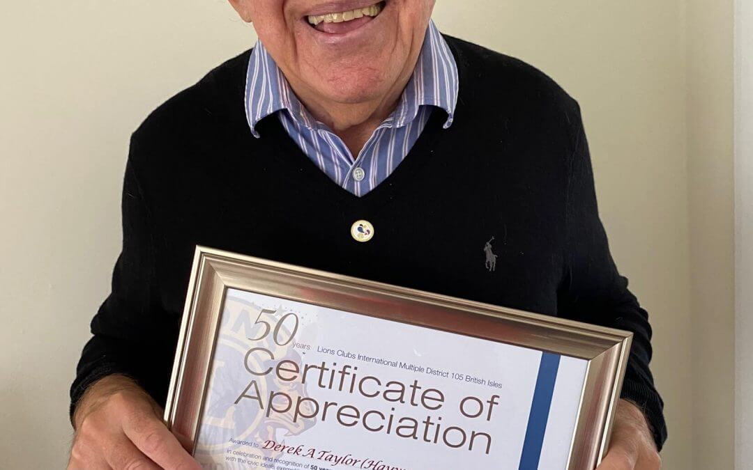 DT | A Very Special Presentation to a Very Special Person