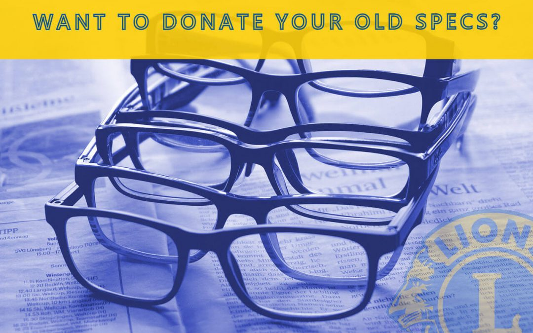 HHLC Are Now Collecting Glasses & Spectacles Again!