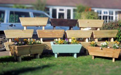 Fund Raising   HHLC Garden Planters