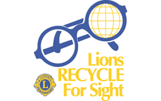 Logo image: Lions Recycle For Sight