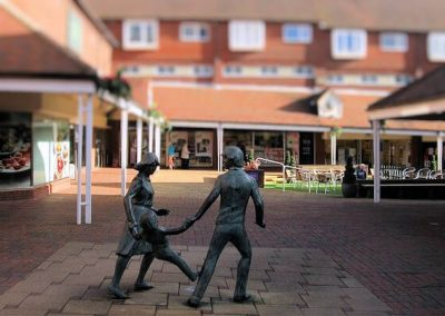 Photo of the Orchards Shopping centre in Haywards Heath